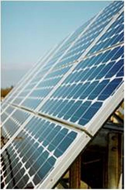 Example of a solar cell